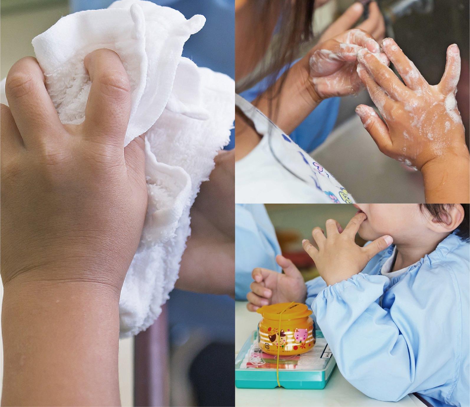 手洗いとおしぼり