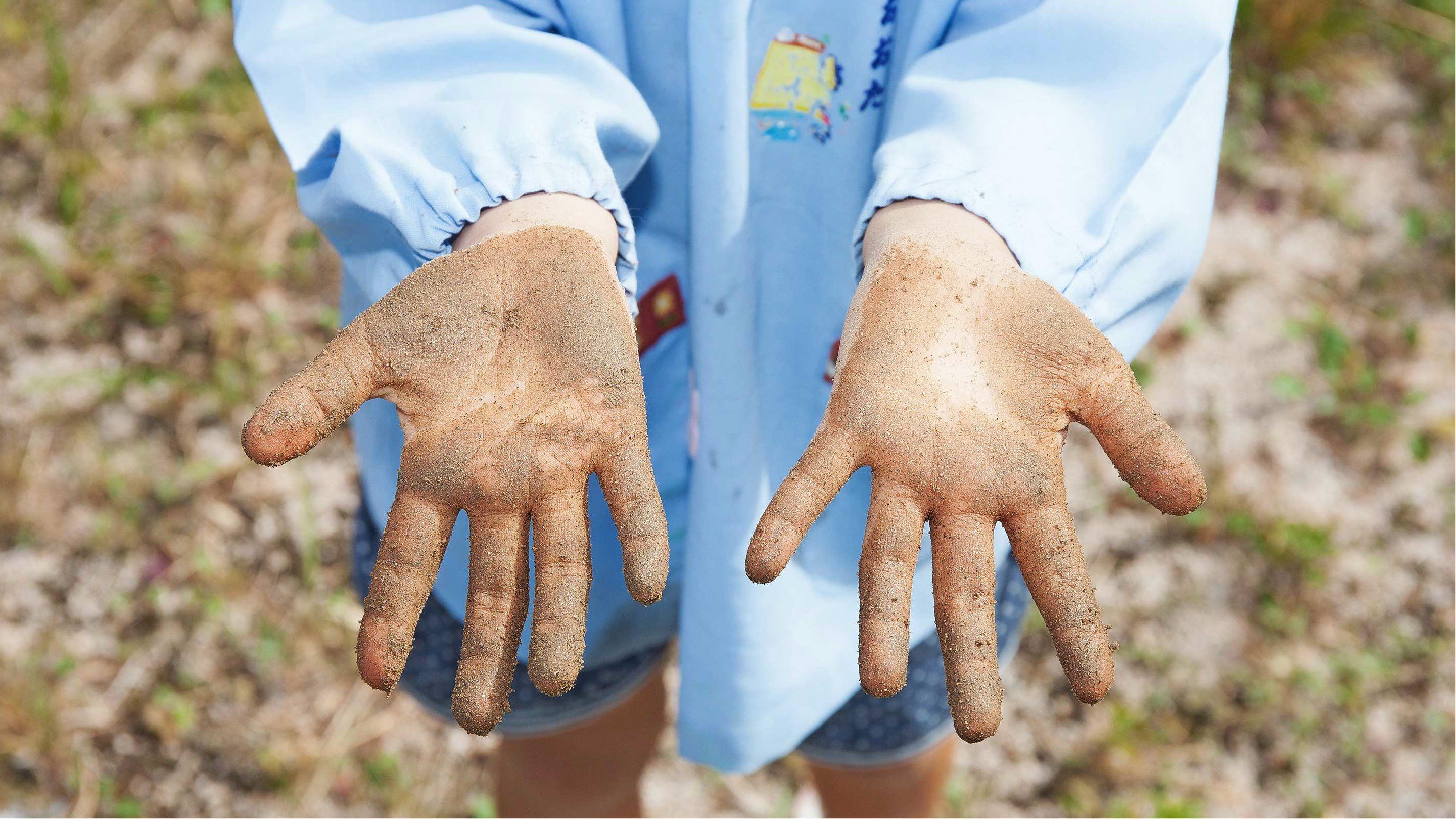 子どもたちの手を清潔なものに。「やさしさ」を作れることに誇りを。